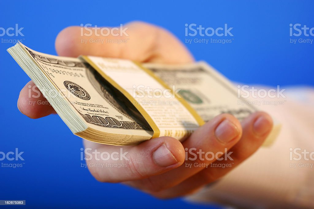 $10,000 for you royalty-free stock photo