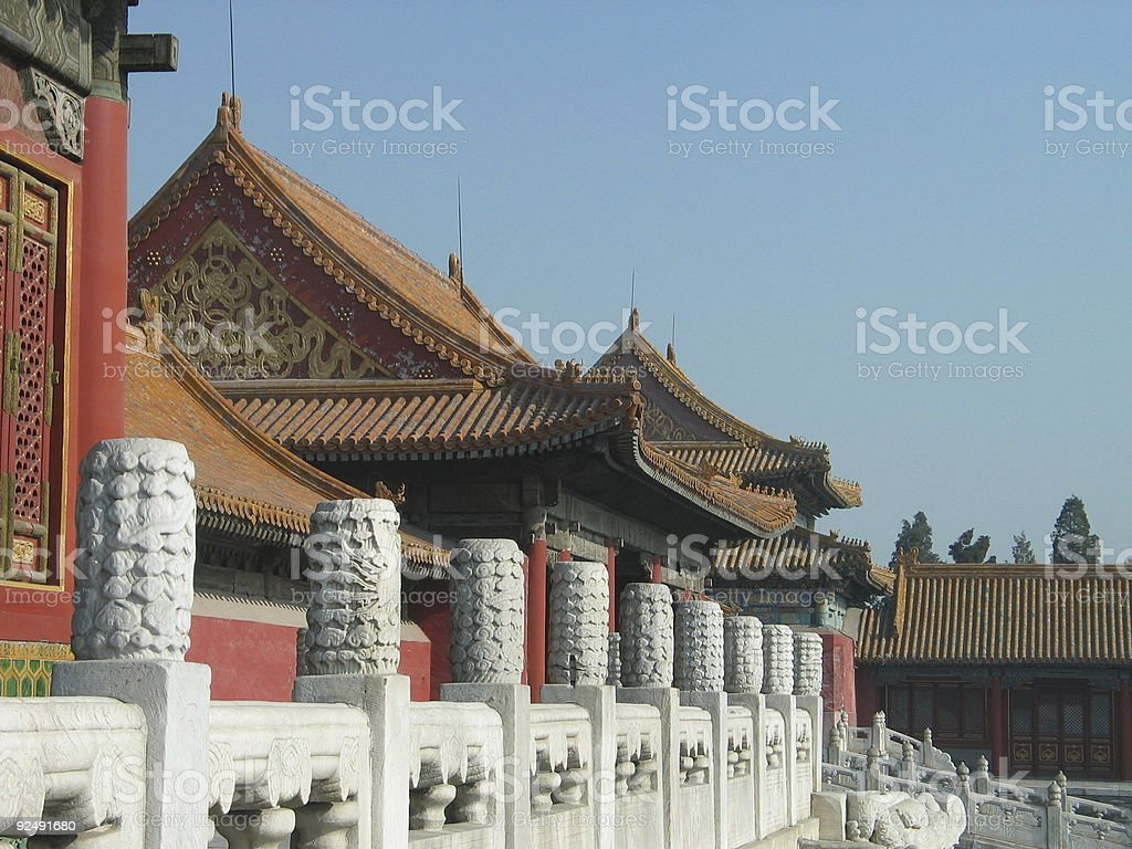 Forbidden City 2, Beijing royalty-free stock photo