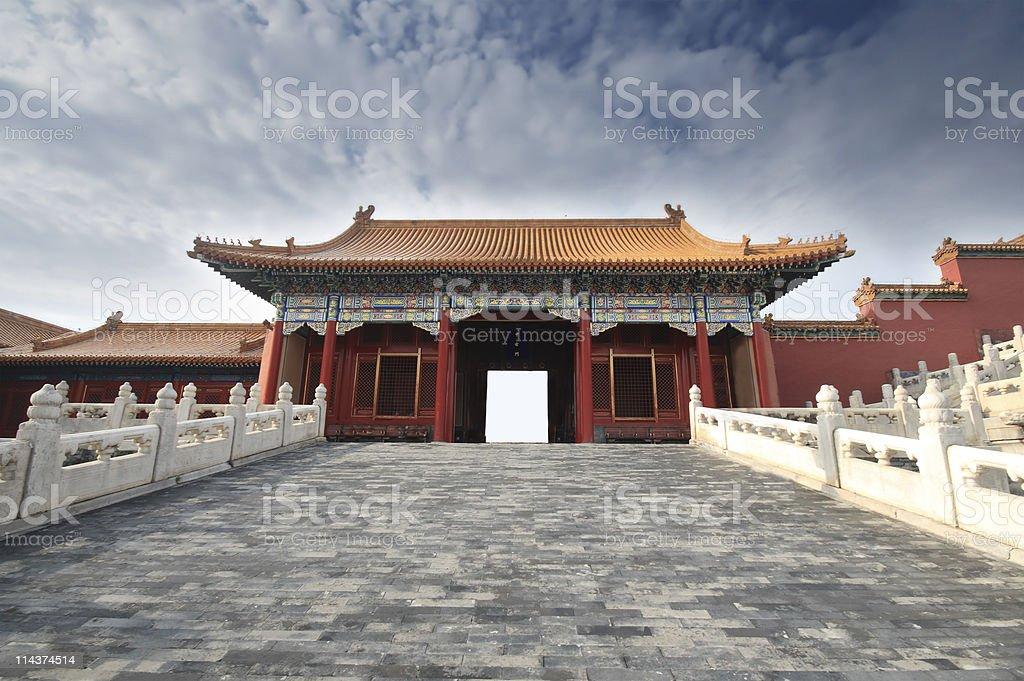 Forbidden City, Beijing, China royalty-free stock photo