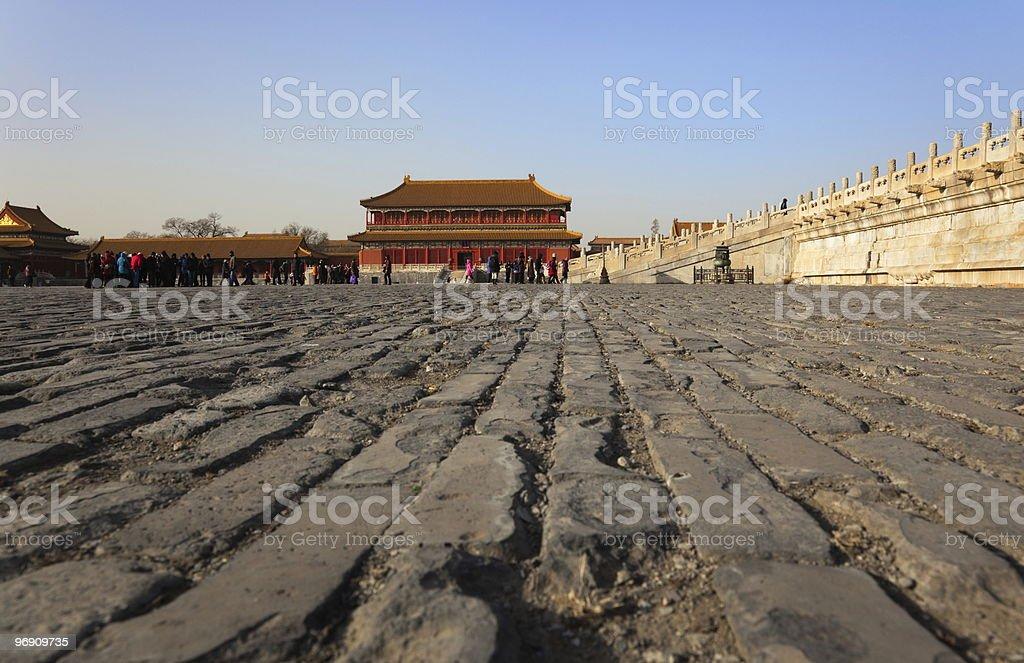 Forbidden City. Beijing. China. royalty-free stock photo