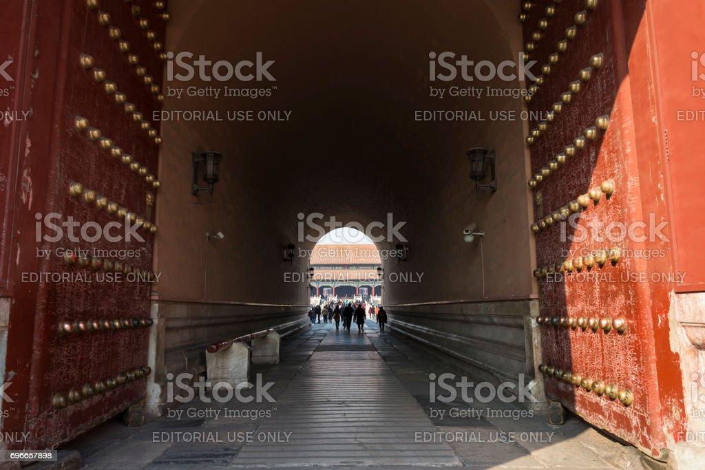 Forbidden City, Beijing stock photo