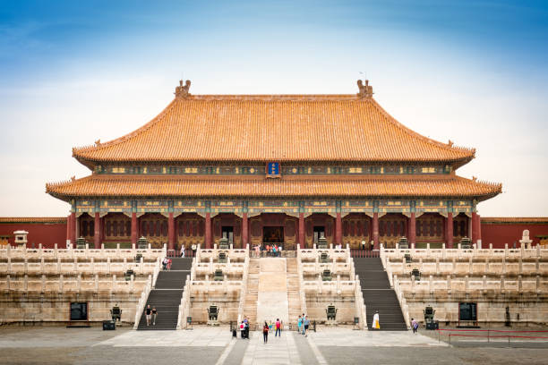 Forbidden city Beijing, China forbidden city stock pictures, royalty-free photos & images
