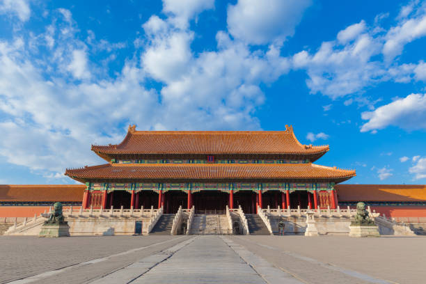 Forbidden City Forbidden City in Beijing China forbidden city stock pictures, royalty-free photos & images