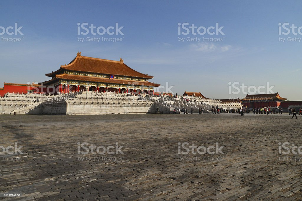 Forbidden City royalty-free 스톡 사진