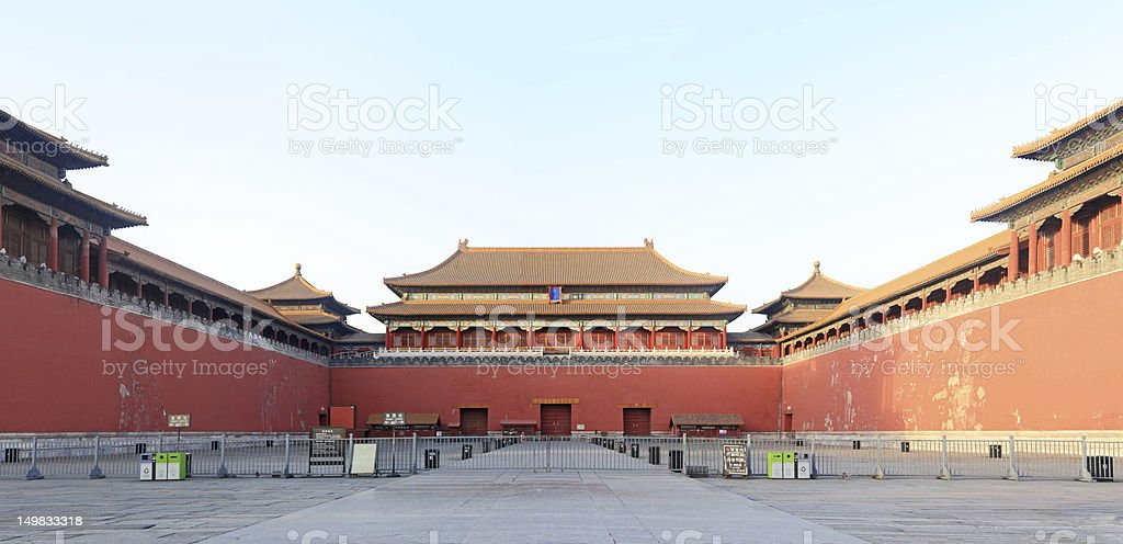 Forbidden city north entrance. Beijing, China.