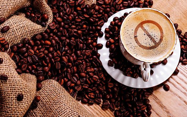 forbidden coffee stock photo