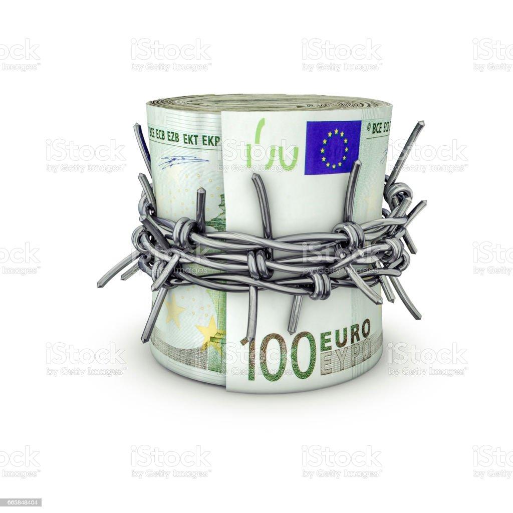 Forbidden Money Euros Stock Photo & More Pictures of Abundance   iStock