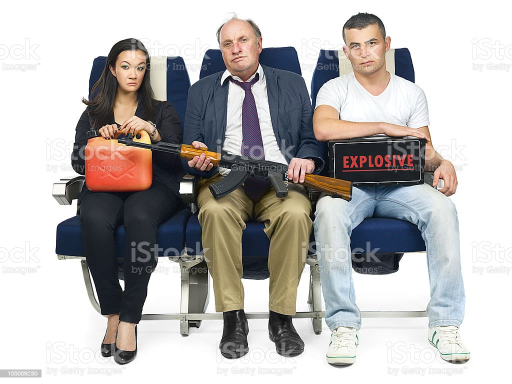 Forbidden to bring onboard royalty-free stock photo