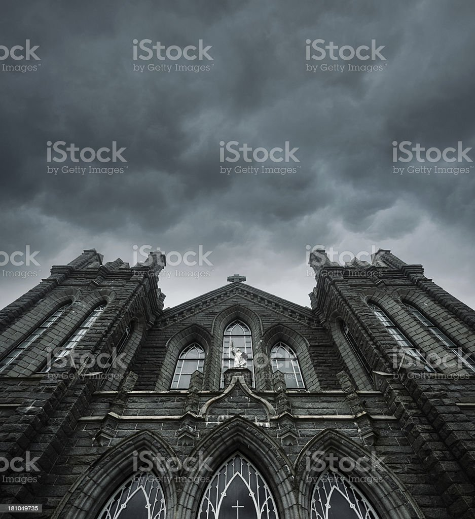 Forboding Cloudscape royalty-free stock photo