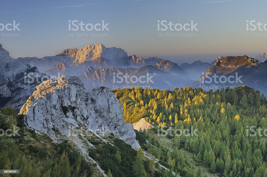 Forcella Savalons (Dolomites - Italy) royalty-free stock photo