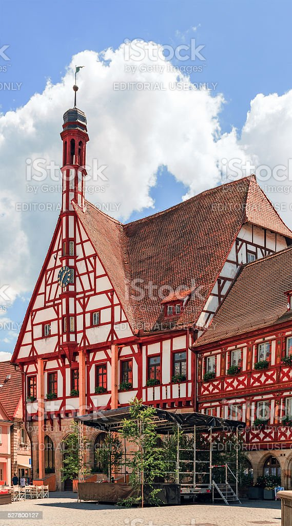 Forchheim Old Town stock photo