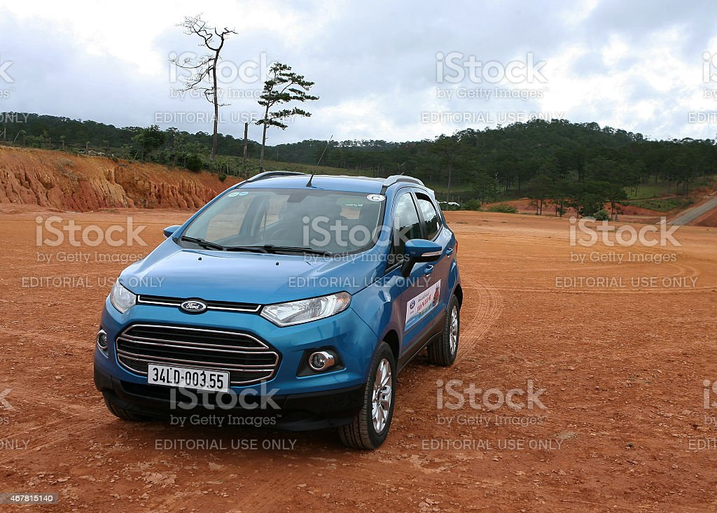 Ford All new EcoSport car stock photo