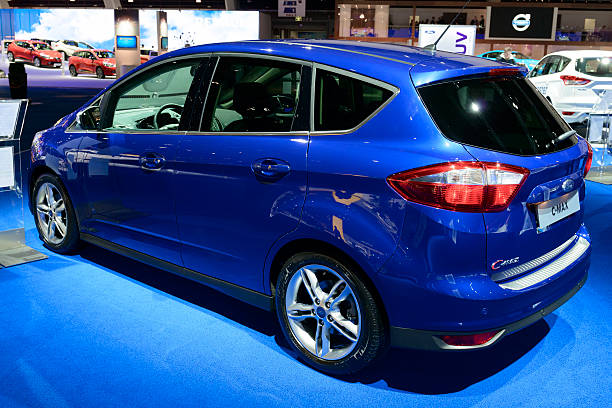 ford c-max - ford focus stock photos and pictures