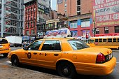 istock Ford Crown Vic yellow cab 1295288252