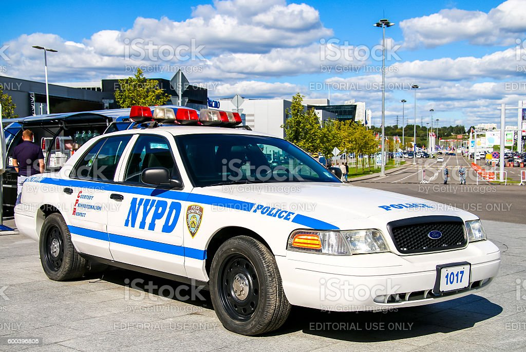 Ford Crown Victoria Police Interceptor stock photo