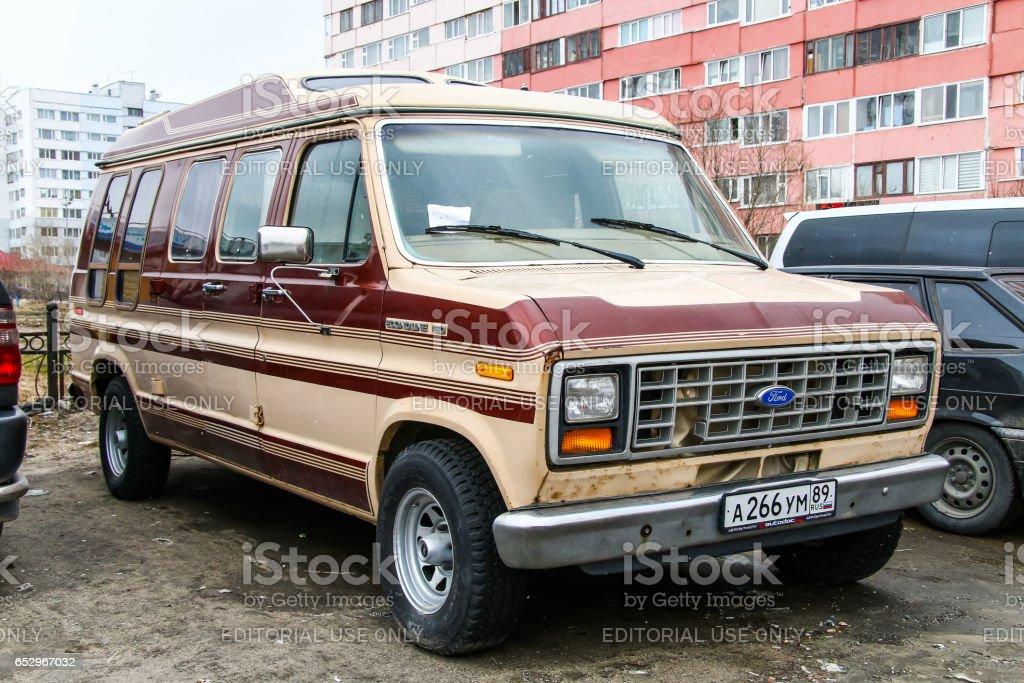 Ford Econoline 150 stock photo