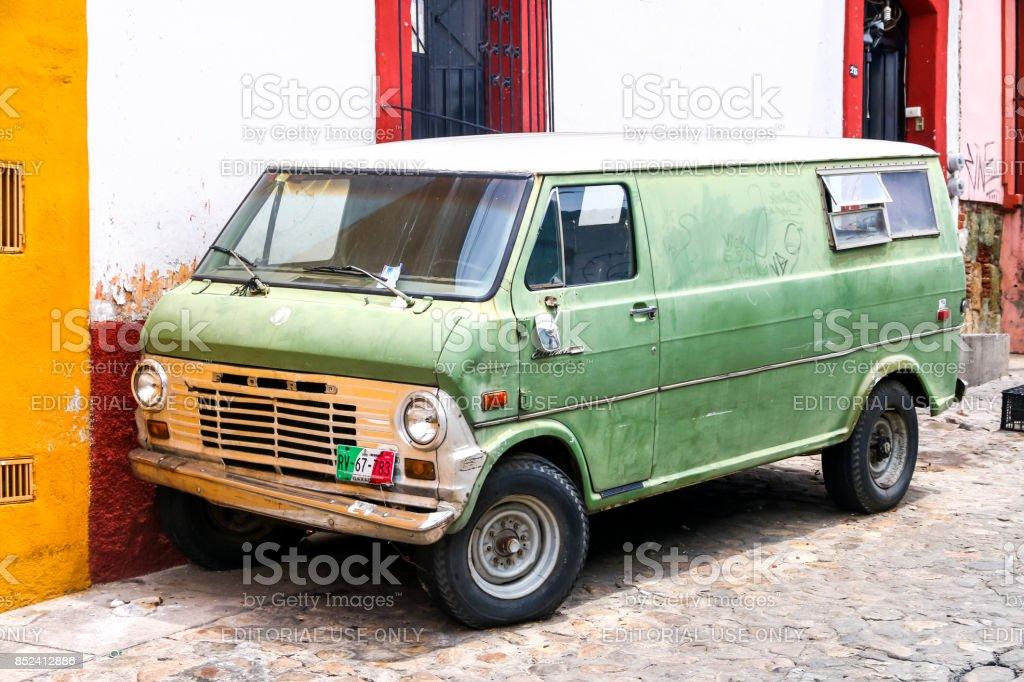 Ford Econoline stock photo