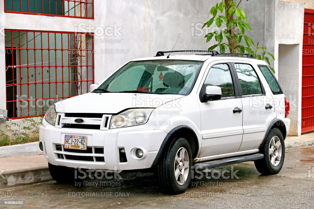 Ford EcoSport stock photo