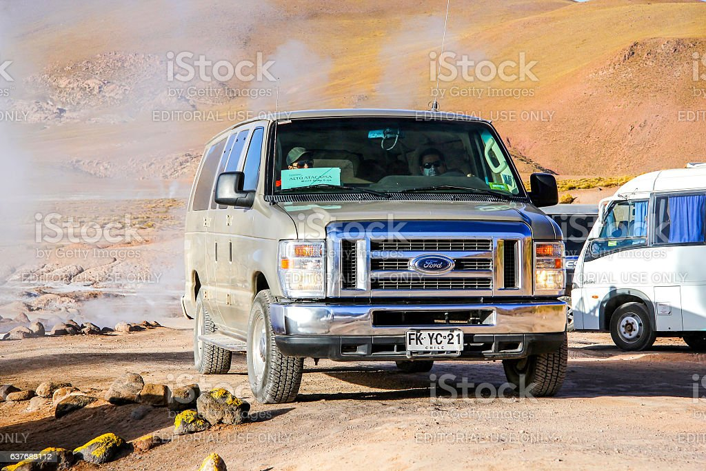Ford E-series stock photo