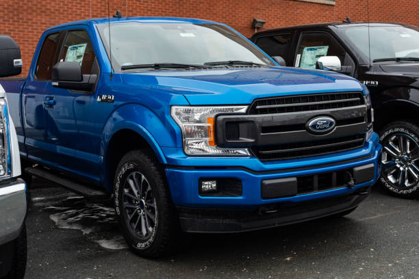 2020 Ford F-150 Pickup Truck stock photo