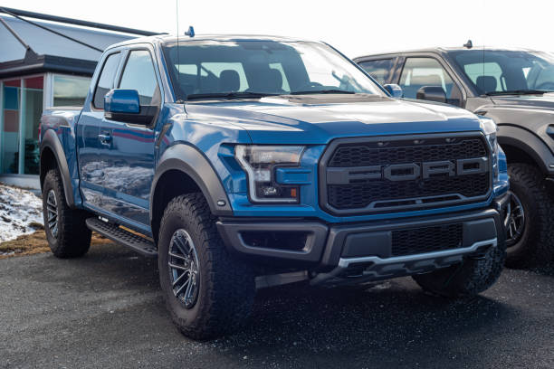 2020 Ford F-150 Raptor stock photo