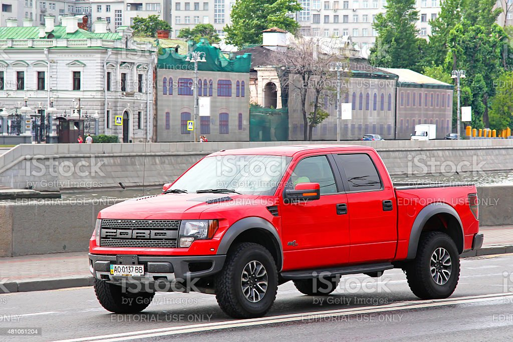 Ford F-150 Raptor stock photo