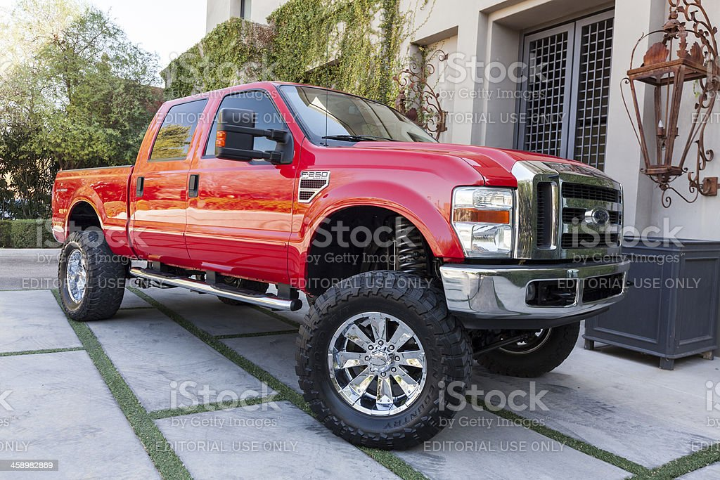 Ford F250 truck 2008 royalty-free stock photo