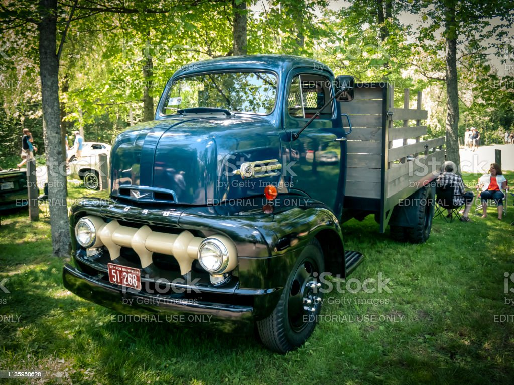 1952 Ford F5 Coe Truck Stock Photo Download Image Now Istock