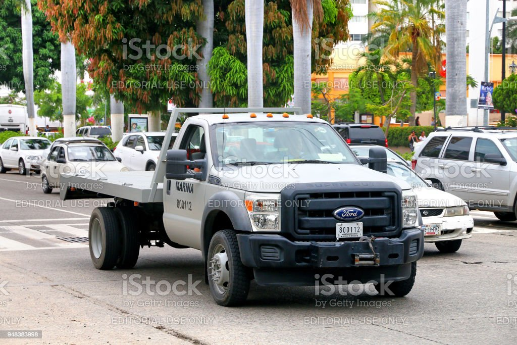 Ford F-550 stock photo