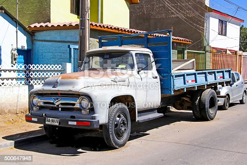 istock Ford F600 500647948