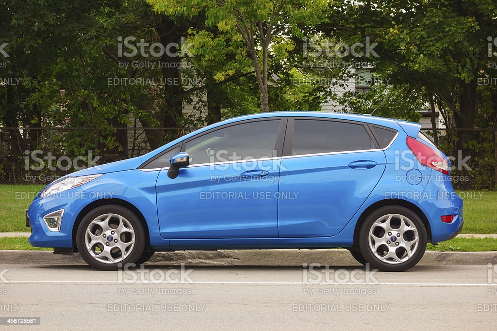 Ford Fiesta royalty-free stock photo