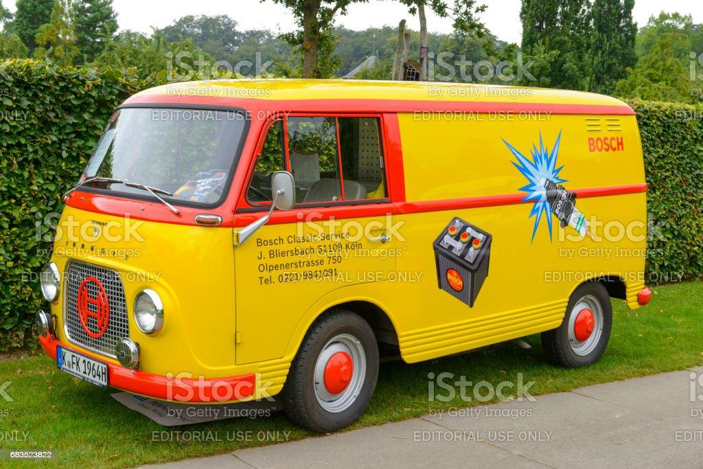Ford FK1250 Taunus Transit klassische Bosch Service-Kastenwagen – Foto