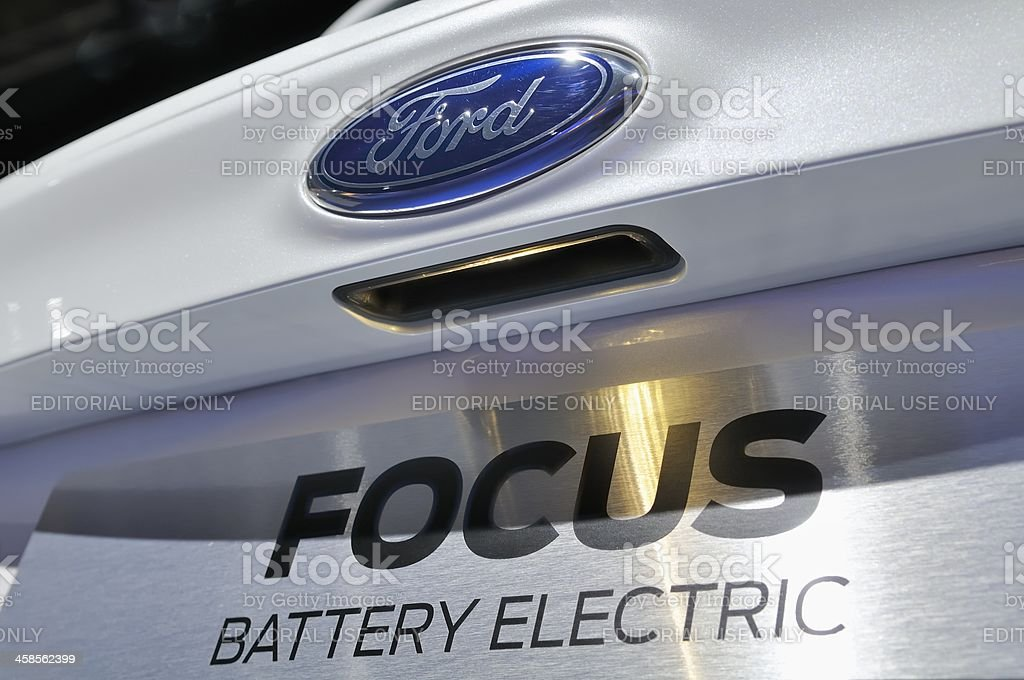 Ford Focus Electric stock photo