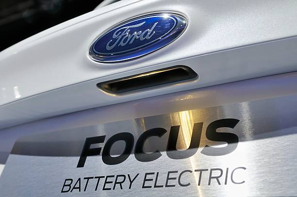 ford focus electric - ford focus stock photos and pictures