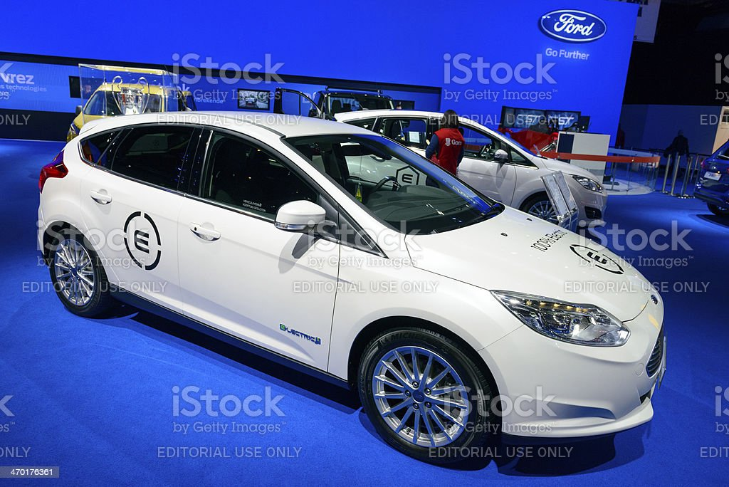 Ford Focus Electric royalty-free stock photo