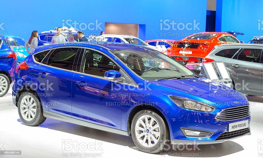 Photo libre de droit de Ford Focus Berline À Hayon Arrière De Voiture  banque d'images et plus d'images libres de droit de {top keyword}