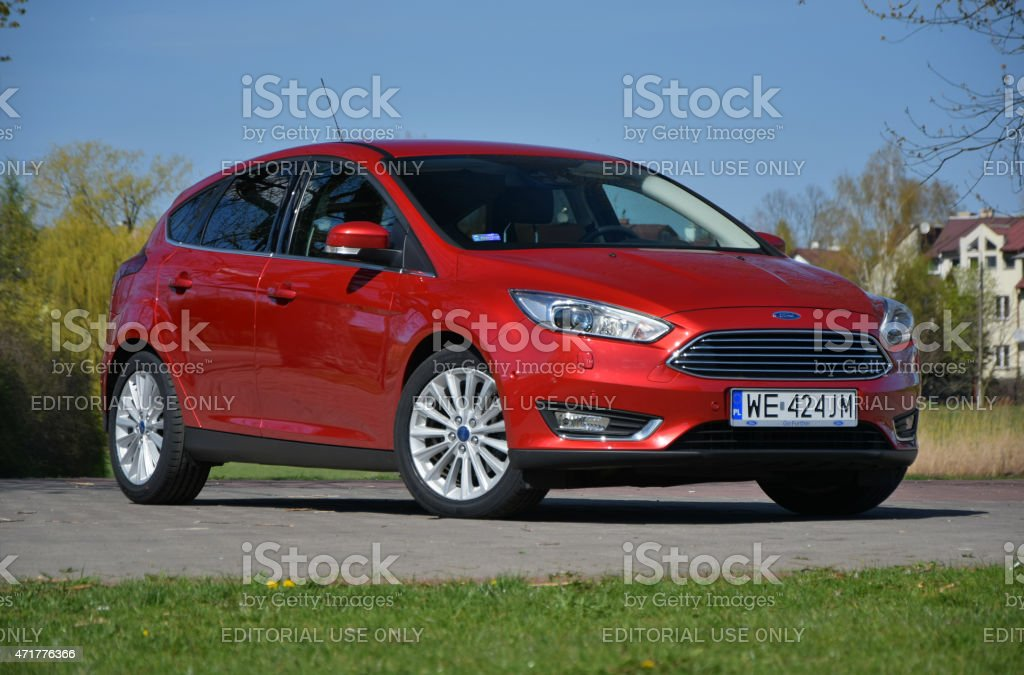 Ford Focus sur la rue - Photo
