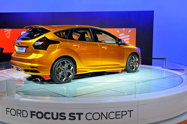 ford focus st concept - ford focus stock photos and pictures