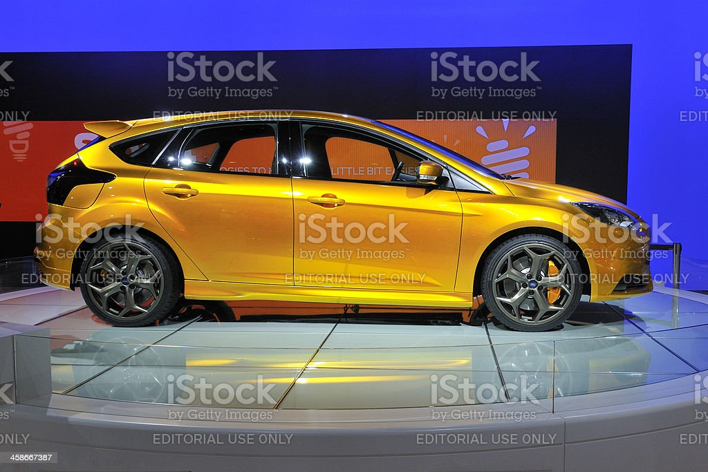 Ford Focus ST concept royalty-free stock photo