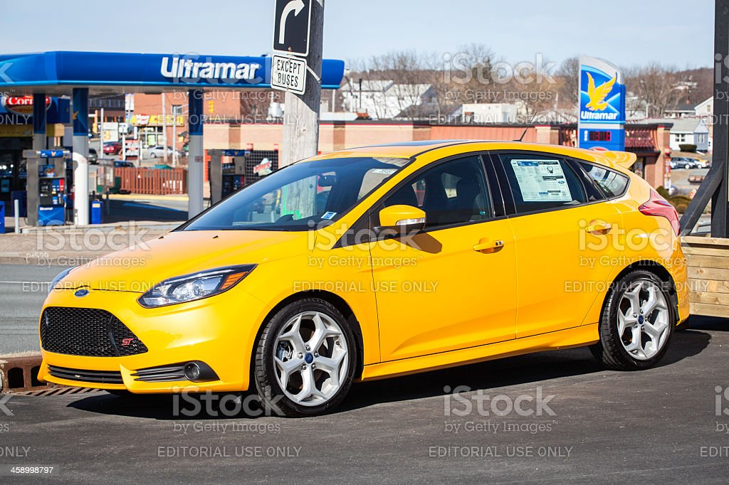 Ford Focus ST royalty-free stock photo