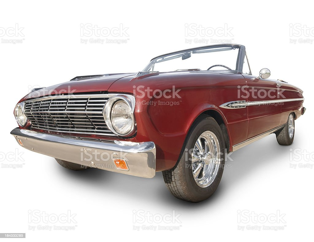 Ford Futura Convertible royalty-free stock photo