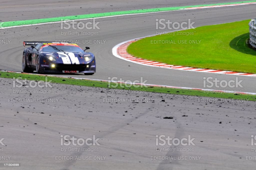 Ford GT GT3 royalty-free stock photo