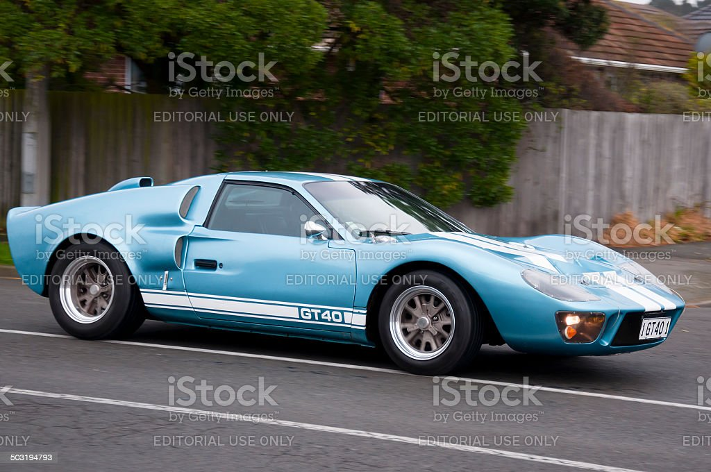 Ford GT40 from 2002 stock photo