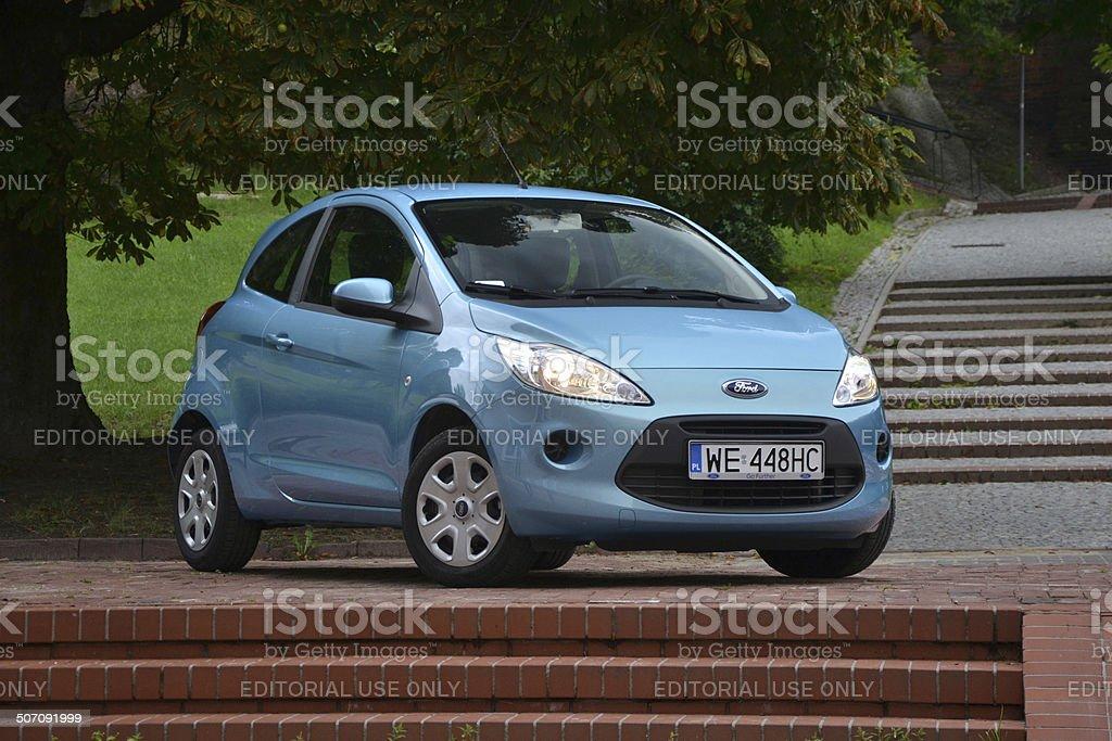 Ford Ka at the street stock photo