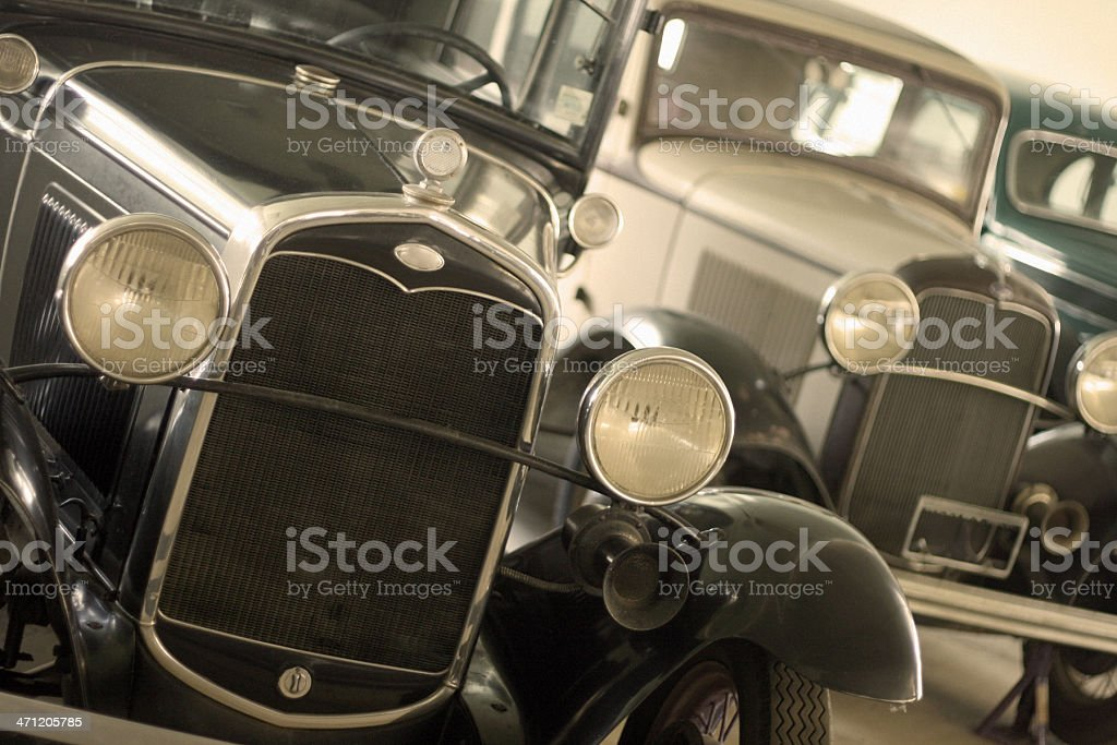 Ford Model T - 1900s Cars royalty-free stock photo