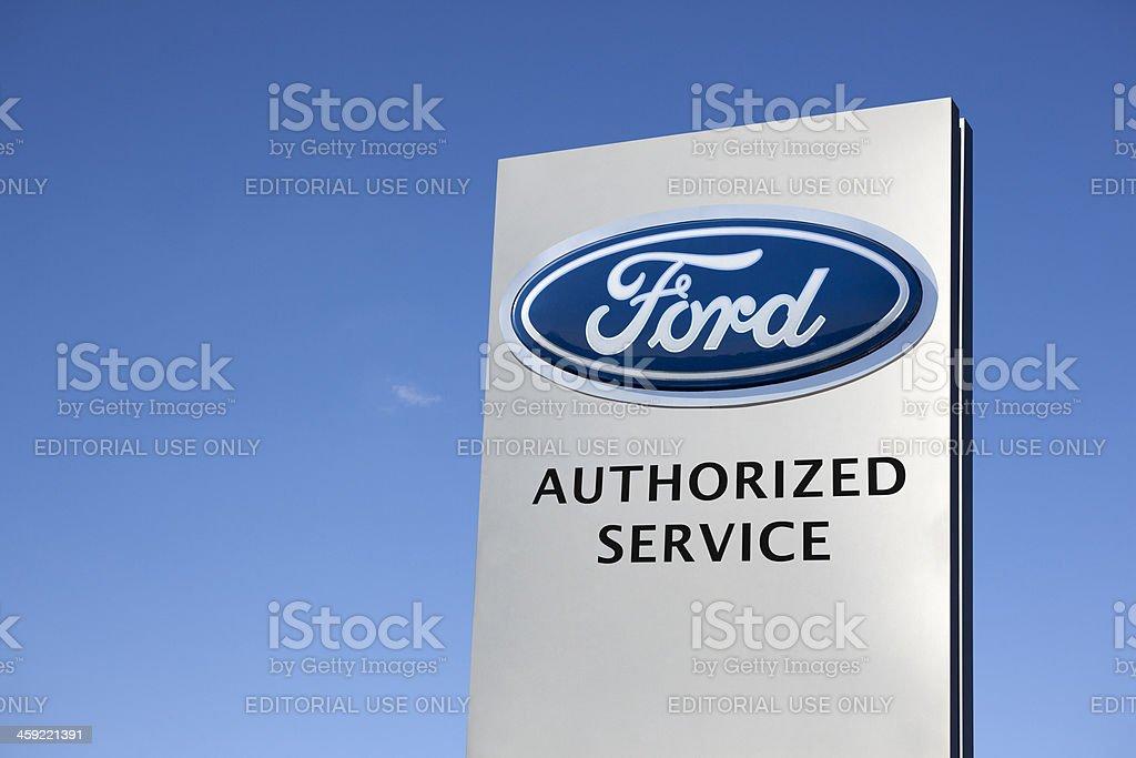 Ford Motor Company stock photo