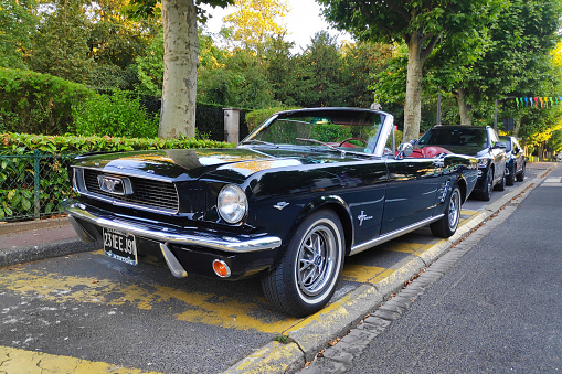 Ford Mustang Convertible Stock Photo - Download Image Now
