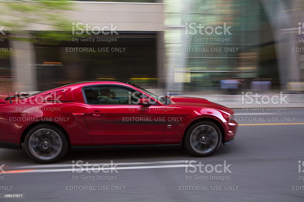 2012 Ford Mustang Coupe royalty-free stock photo