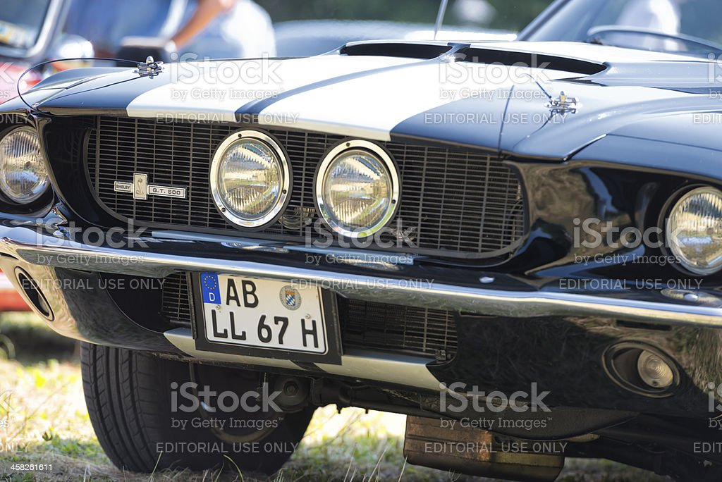 Ford Mustang G.T. 500 Shjelby stock photo