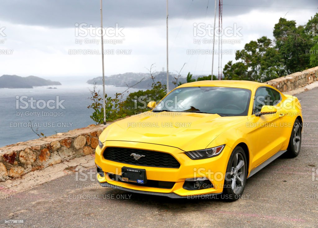 Ford Mustang stock photo